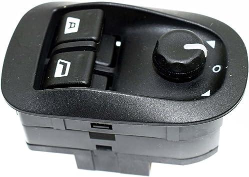 Power Fenster Schalter Master Elektrische Spiegel Button Schwarz 6554 Wa Für Peugeots 206 306 1993 2016 Auto