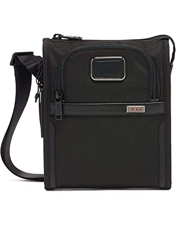 9e231f8c56 TUMI - Alpha 3 Small Pocket Crossbody Bag - Satchel for Men and Women