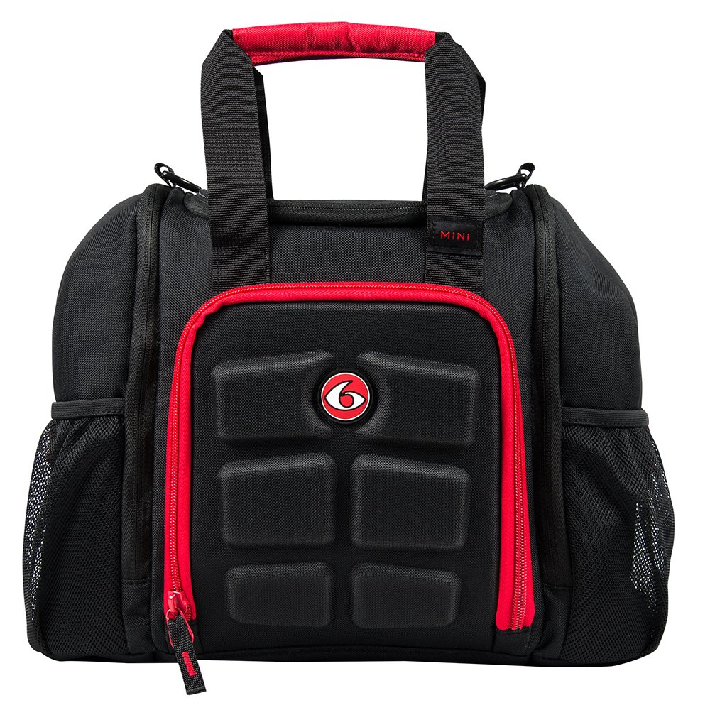 6 Pack Fitness Bag Mini Innovator Black/Red