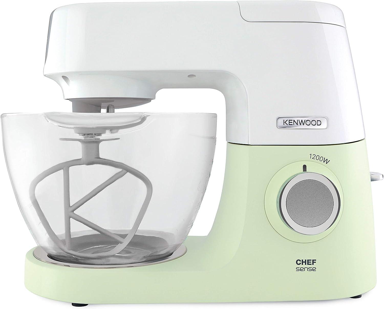 Kenwood KVC 5100 - Robot de cocina (4,6 L, Verde, Blanco, Vidrio ...