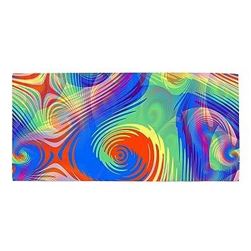 Amazon Com Washcloths Printed Design Abstract Color Hair