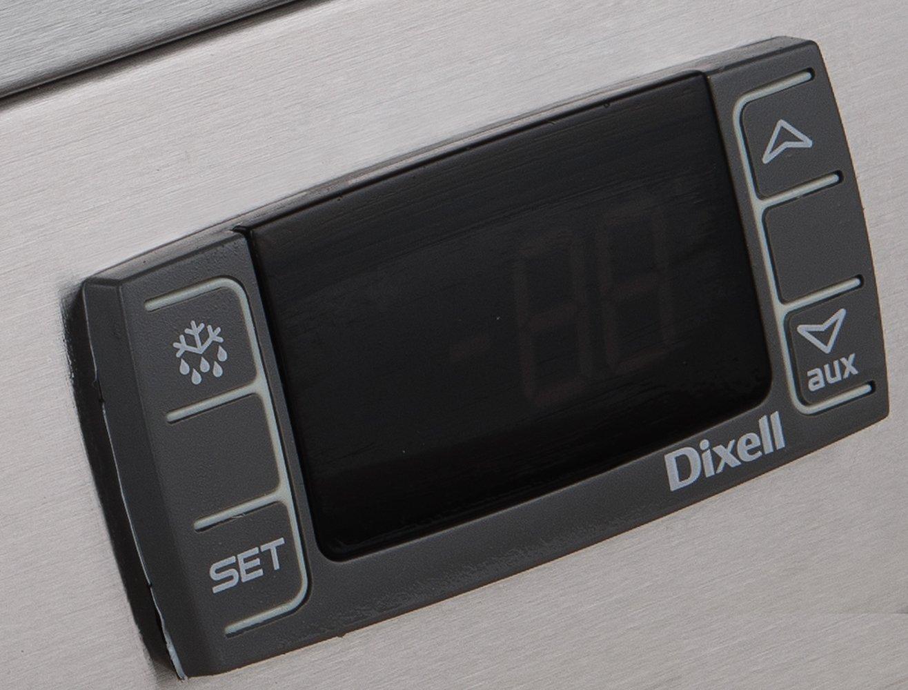 Dukers D55F 40.7 cu 2-Door Commercial Freezer in Stainless Steel ft