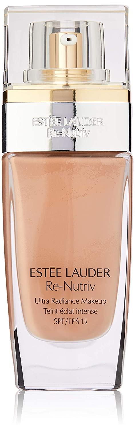 Estee Lauder Re-Nutriv Ultra Radiance Lifting Creme Makeup SPF 15, 3C2 Pebble, 1 Ounce