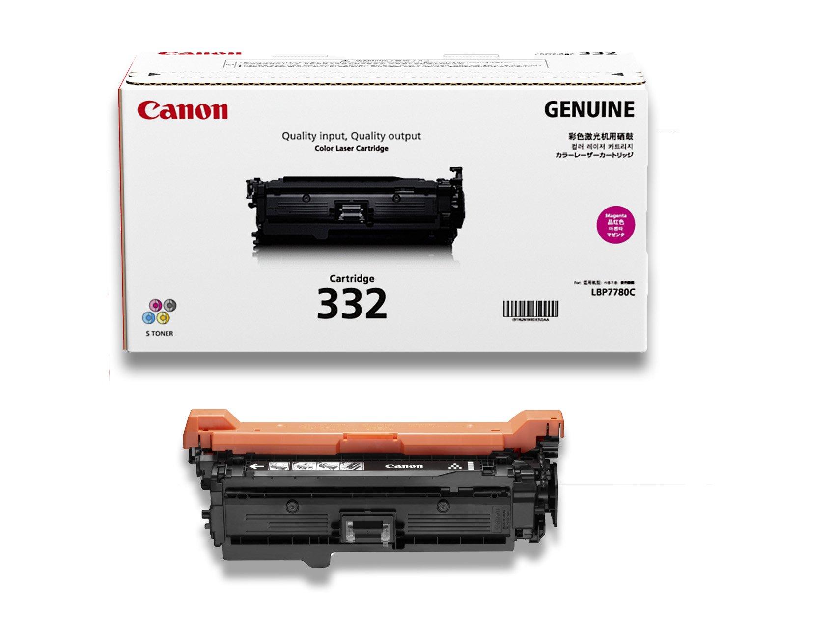 Canon Original 332 Toner Cartridge, Magenta
