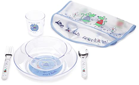 Plastorex 9246 83 0 - Vajilla infantil (apta para microondas ...