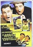 """Las Comedias """"Fantasticas"""" De Abbott Y Costello, Vol. 2 [DVD]"""