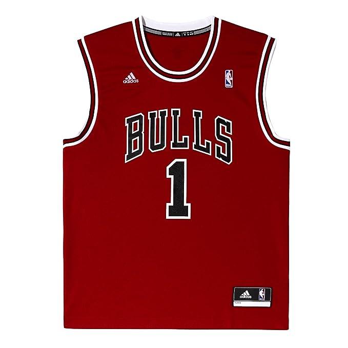 adidas Chicago Réplica de Balón de # Bulls de Pelota de Baloncesto Camiseta de Fútbol Para