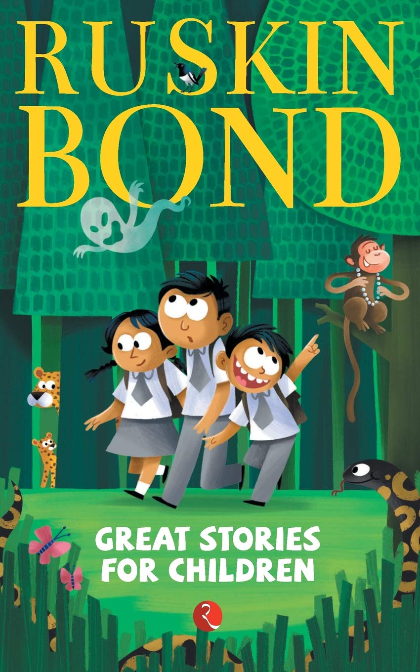 'Great Stories for Children' By Ruskin Bond | Bedtime Story Book