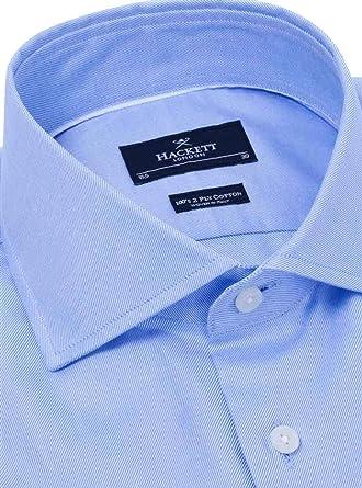 Camisa Hackett Royal Twill BC Azul Hombre 15 75 513SKY: Amazon.es: Ropa y accesorios