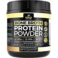Bone Broth Protein Powder - Unflavored 20 Servings 445g/15.7oz