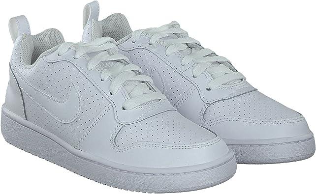 Nike Baskets Court Borough Low Femme Blanc 38: