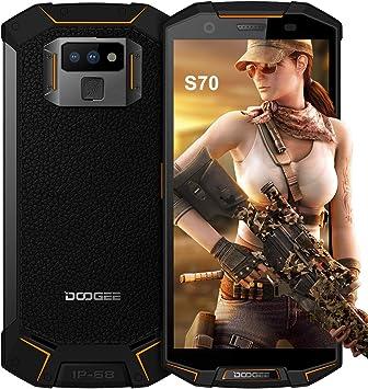 4G Telefono Movil Todoterreno, DOOGEE S70 Dual SIM Android 8.1 ...