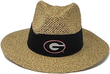 3e9604f742d Logofit University Of Georgia Logo Angler Straw Safari Hat