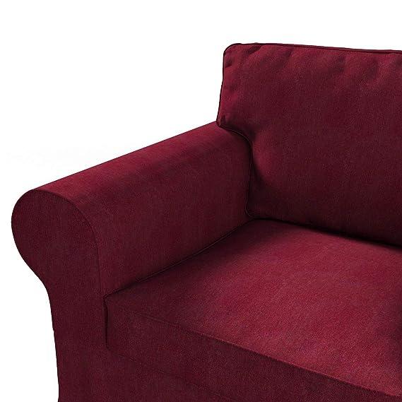 Dekoria Fire retarding IKEA EKTORP sillón Funda Color Rojo ...
