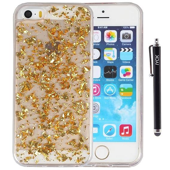 amazon com iphone se case, iphone 5s case, iyck luxury bling