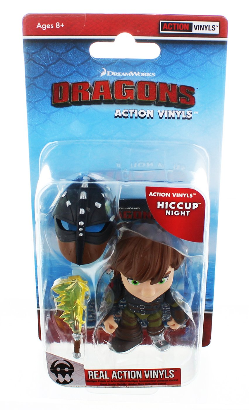 How To Train Your Dragon 3.25 Action Vinyl: Hiccup (Night) The Loyal Subjects