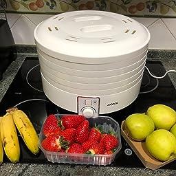 Aicook Deshidratador Alimentos, Deshidratadora de Frutas y ...
