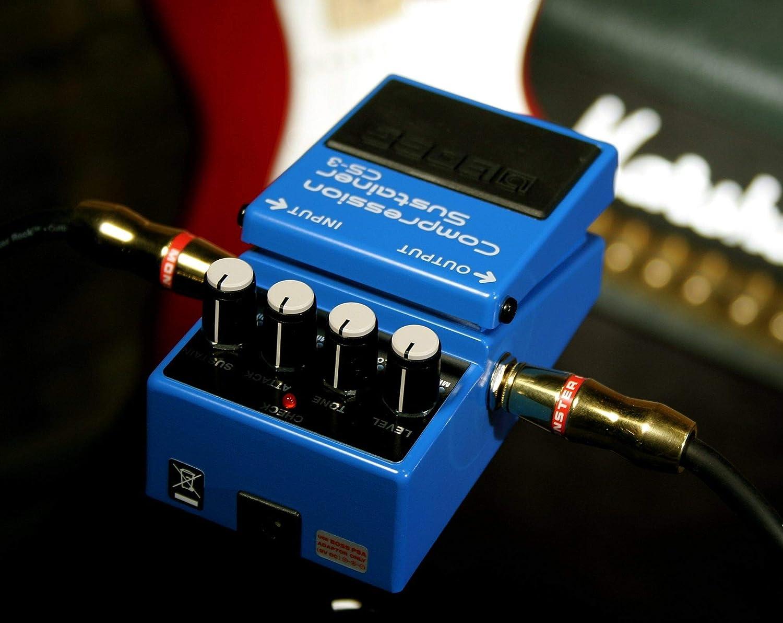Boss CS-3 paquete de pedales de soporte de compresor con fuente de ...
