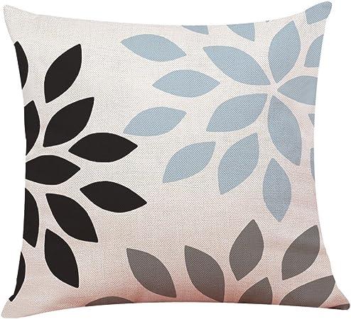 Deelin 1 Pc Sofa Home Car Housse De Coussin Simple Geometrique Imprime Lancer Taie D Oreiller Coussins