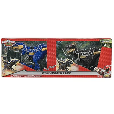 POWER RANGERS DELUX ZORD MEGA 2 PACK: Toys & Games