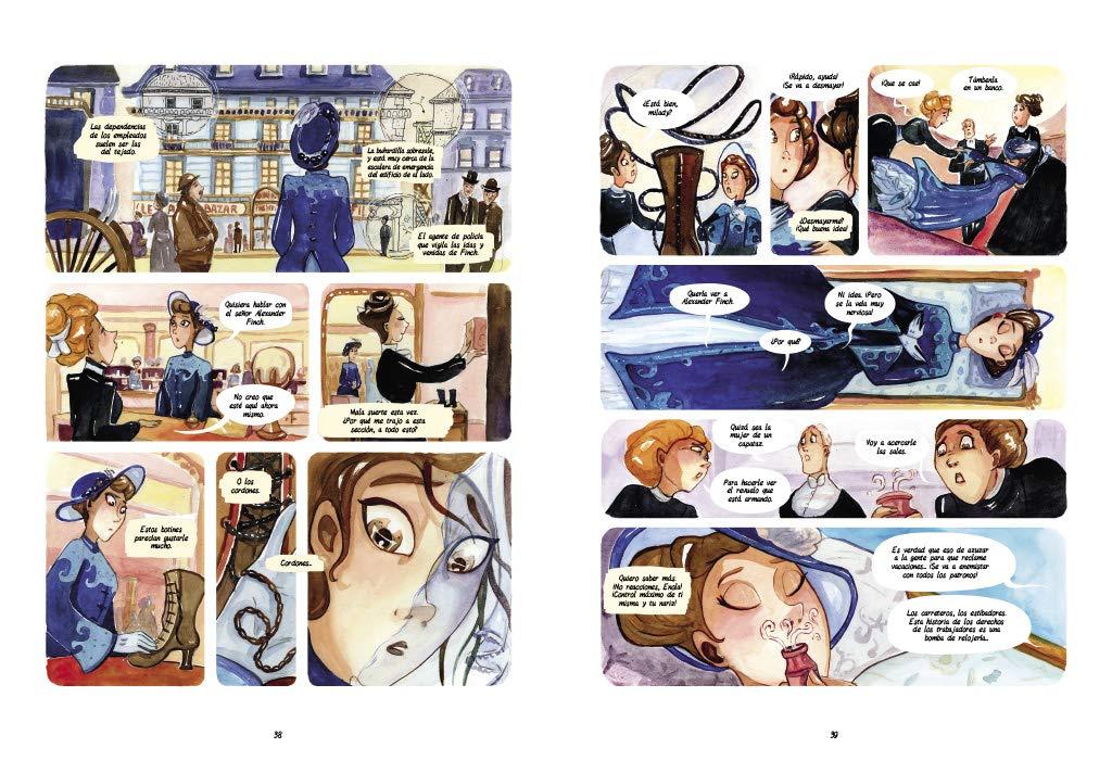 Amazon.com: Enola Holmes y el sorprendente caso de Lady Alistair ...