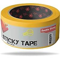Dubbelzijdige tape - extra sterk - dubbelzijdige tape 25m x 38 mm spiegeltape zelfklevende dubbelzijdige tape (25m)