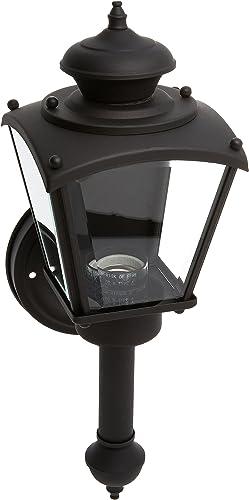 Progress Lighting P5846-31 1-Light Wall Lantern, Black