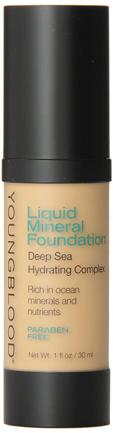 Youngblood Liquid Mineral Foundation, Golden Tan, 1-Ounce 696137030050