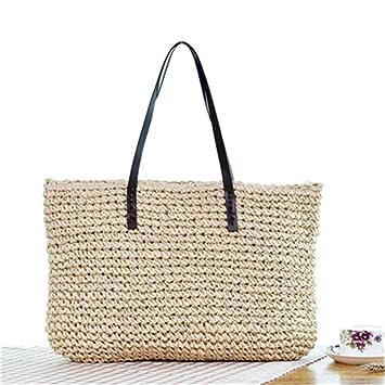 Straw Bag Bolso De Mujer Bohemia Beach Bags Hecho A Mano De Mimbre Summer Tote Bags