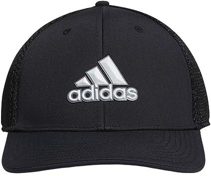 5f48a790 adidas Golf 2019 Mens A-Stretch Tour Golf Cap Breathable Mesh Hat Black S/