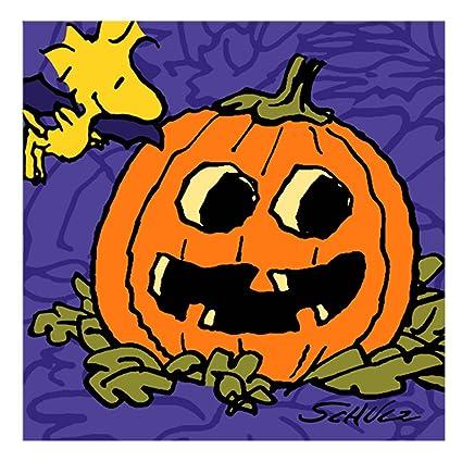 amazon com peanuts snoopy halloween small napkins 8ct toys games
