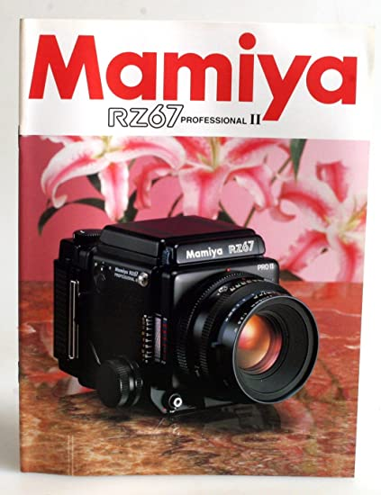 Amazon com : MAMIYA RZ67 PRO II BROCHURE : Everything Else