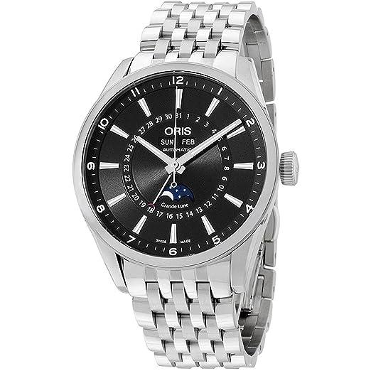 ORIS Reloj DE Hombre AUTOMÁTICO 42MM Correa Y Caja DE Acero 91576434034MB: Amazon.es: Relojes