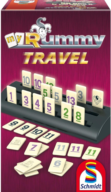 Schmidt Spiele My Rummy Travel: Amazon.es: Juguetes y juegos