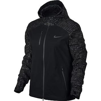 get cheap best sneakers reputable site Nike W NK Hpr-Shld Flsh JKT HD - Veste Femme, Couleur Noir ...
