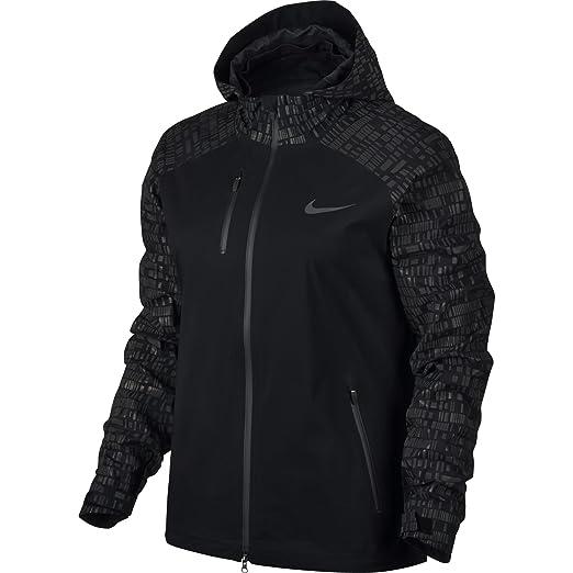 Nike Women s Hypershield Flash Jacket Black at Amazon Women s Coats Shop cc4d65787