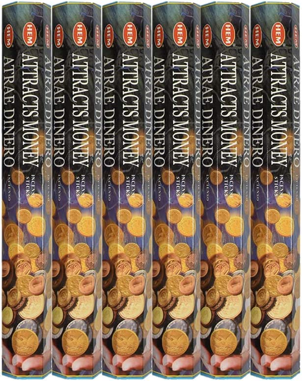 Hem 6 Boxes of 20 Sticks Vanilla Zen Aromatherapy asah 120 Incense Sticks Bulk Pack