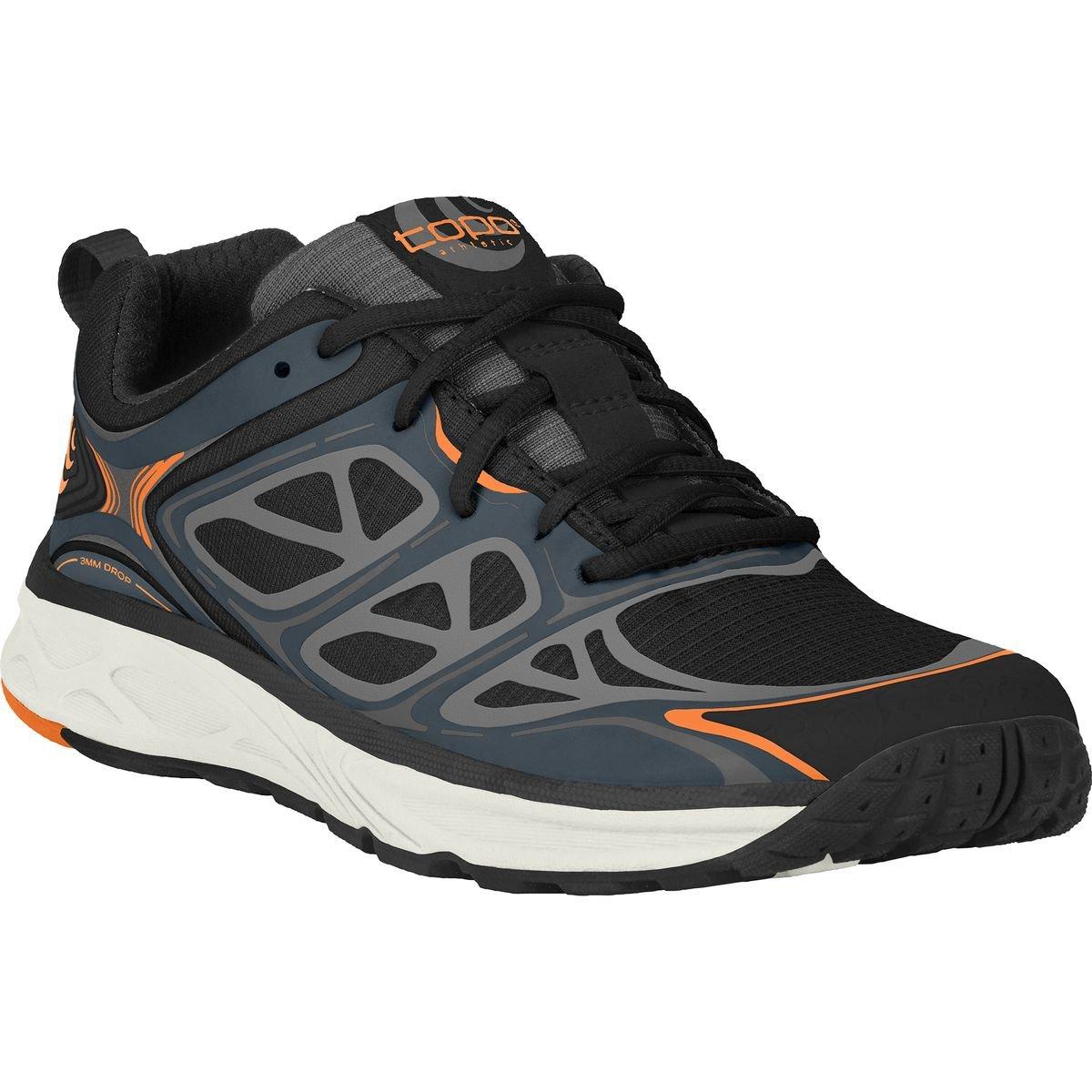 Topo Athletic Fli-Lyte Running Shoe - Men's B0195H74IY 11.5 D(M) US|Black/Ink
