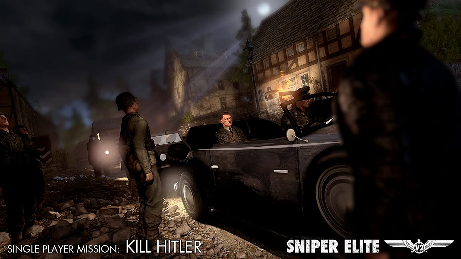 Sniper Elite V2 - Kill Hitler DLC Pack [PC Steam Code]