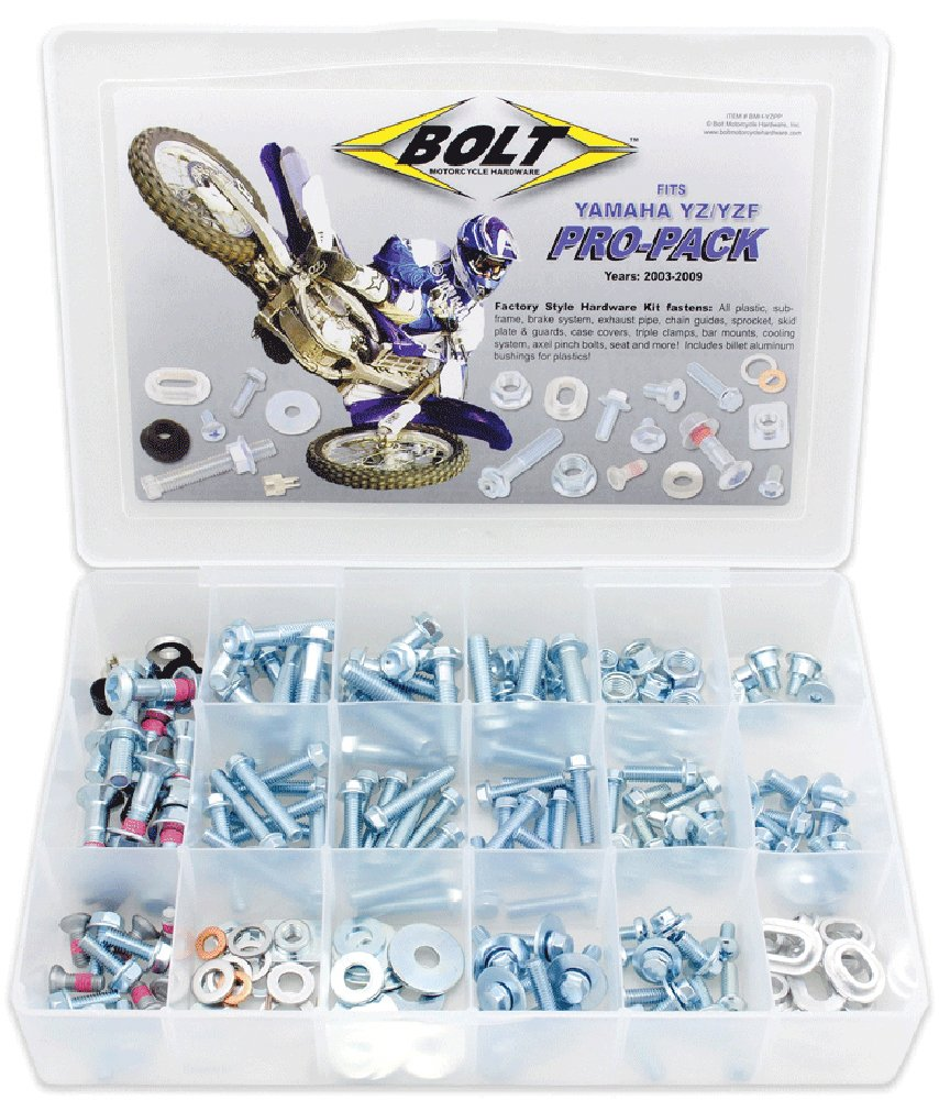 Bolt Motorcycle Hardware (BMH-YZPP) Pro Bolt Pack
