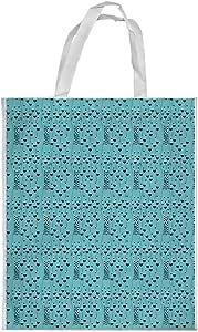 Printed Shopping bag, Medium Size, Romantic - hearts