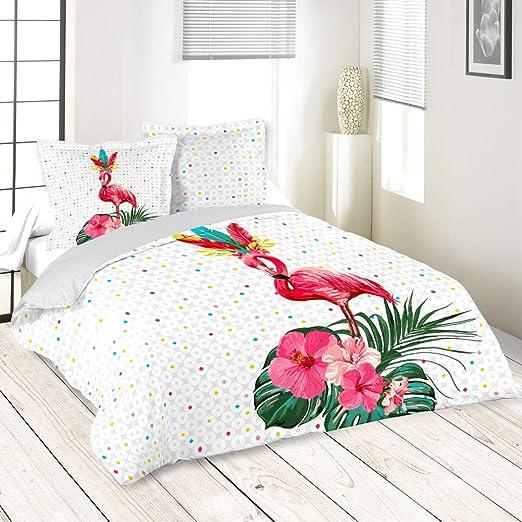 Lovely Casa – Funda nórdica de 260 x 240 cm y Dos Fundas pikaly 100% algodón: Amazon.es: Hogar