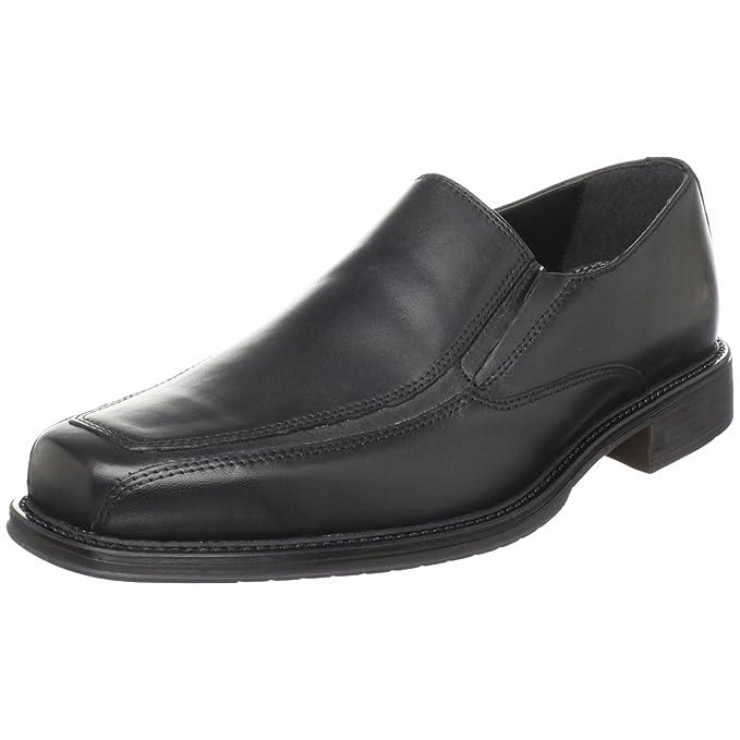 Bostonian Beecher Hombre Negro Piel Mocasines Zapatos Talla EU 41,5: Amazon.es: Ropa y accesorios
