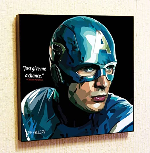 """New 8/"""" Avengers Captain America Acrylic Figure Home Bedroom Decor Collect Gift"""