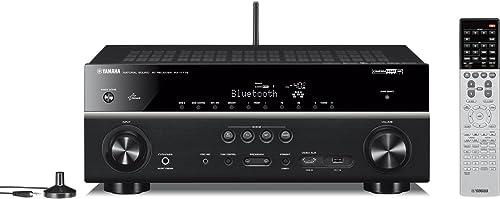 Yamaha AV Receiver 7.1ch 4K Bluetooth Wi-Fi Network Audio hi-res Sound Source corresponding Black RX-V779 B