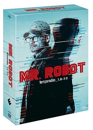 Pack: Mr. Robot - Temporadas 1-3 [DVD]: Amazon.es: Rami Malek, Christian Slater, Portia Doubleday, Sam Esmail, Rami Malek, Christian Slater, Anonymous Content: Cine y Series TV