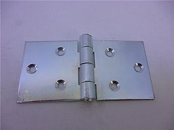 10 Scharniere Tischb/änder Breit Tischband 50 x 100 x 2 mm