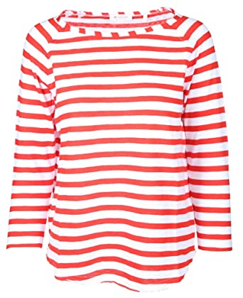 separation shoes 95759 980c6 rich&royal Damen Langarmshirt Heavy Jersey Longsleeve Striped