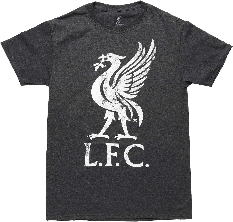 Liverpool FC Liver Bird Logo Adult T-Shirt