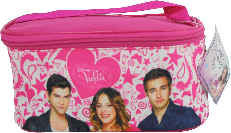 Disney Violetta Beauty Case Maletín de cosmética Neceser Viaje Mujer/Niño: Amazon.es: Zapatos y complementos